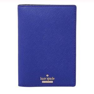 Kate Spade Cameron Street Passport Holder-Blue